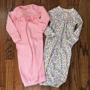 Carter's 2-Pack Sleeper Gowns